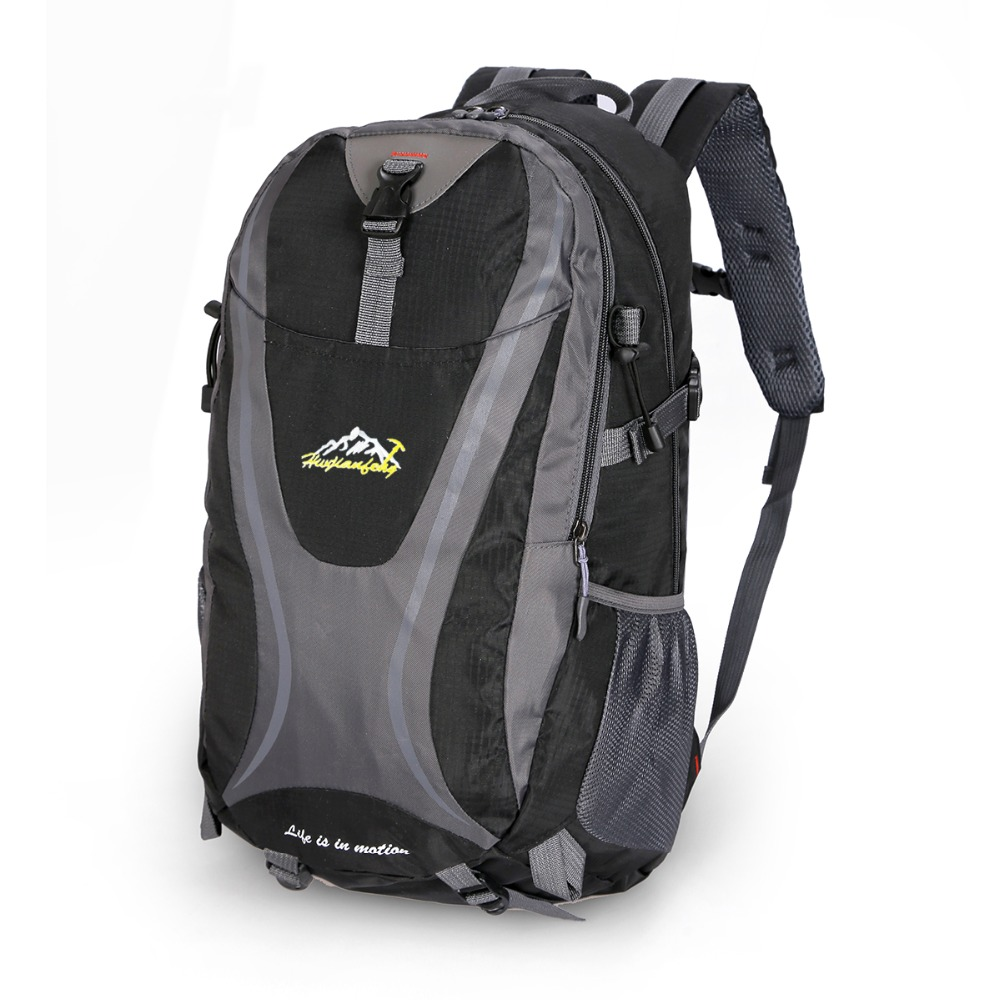 Outdoor Backpack Men women Waterproof Wear resistant Dorsal Breathable hiking Camping Backpacks Travel Sport Bags hw307 in Climbing Bags from Sports Entertainment