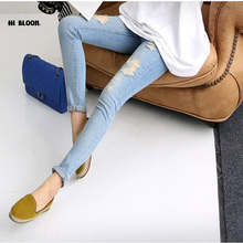 New Fashion Maternity Jeans Pants For Pregnant Women Prop Belly Jean Pants Trousers Clothing For Pregnancy