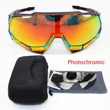 Photochromic SL Brand Base Sports Bicycle Sunglasses Gafas c