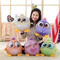Большой размер 30 см Новый baby Bird плюшевые дети игрушки Мультфильм животных фаршированные куклы Creative 3D Мультфильм Птица действие & игрушка фигура и хобби
