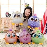 Big size 30 cm New baby Bird pluszowe zabawki dla dzieci Cartoon zwierząt nadziewane lalki Kreatywny 3D Cartoon Ptak action & toy rysunek & hobby