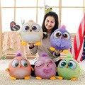 Big size 30 cm Novo Pássaro de pelúcia crianças brinquedos do bebê animal Dos Desenhos Animados bonecos de pelúcia Dos Desenhos Animados 3D Criativo Pássaro figura de ação & toy & hobbies