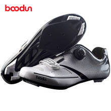 BOODUN Road Cycling Shoes Men Bike Sneakers Zapatillas Ciclismo Chaussure Vtt Breathable Fietsschoenen Bicycle Equipment