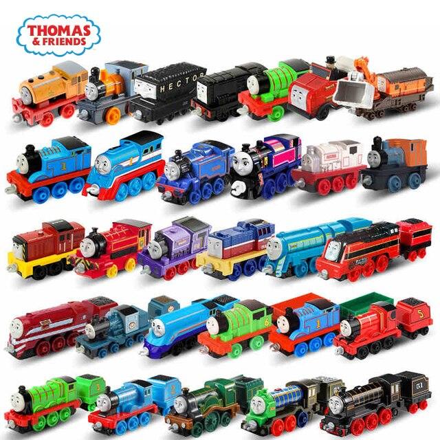Original Thomas e Amigo Strackmaster 1:43 Diecast Trem modelo de carro Crianças Brinquedos Para Crianças Brinquedos Educação Presente de Aniversário