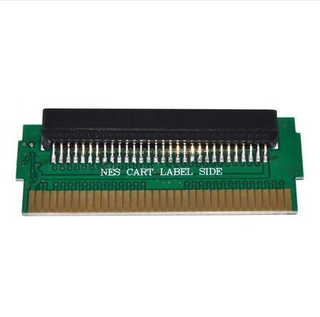 FC 60 Pin To NES 72 Pin Adapter Converter PCBA With CIC Chip Installed