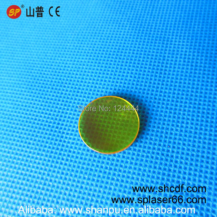 Free Shipping 5pcs/lot CO2 laser focus lens USA ZnSe Material Co2 laser focus lens Dia20mm-FL50.8mm for co2 laser cutting