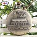 Beijing достопримечательности сувениры туризма Подарок кварцевые карманные часы Китай Beijing Тяньаньмэнь DS142