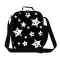 Estrella personalizada Printd Loncheras para Niñas, Caja de Almuerzo Aislada Bolsa de Los Niños, Adultos Envase del Almuerzo de Trabajo, comida bolsa de niños