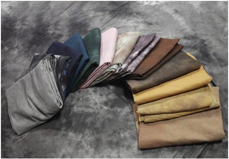 MEHOFOTO Pro fonds de photographie de mousseline teints Vintage vieux fond de mousseline de maître pour Studio de Photo personnalisé - 5