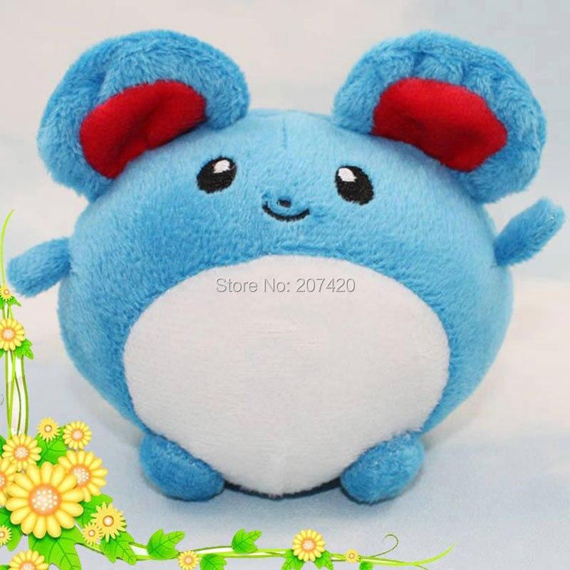 Soft Toys With Pockets : Cm pokemon plush toy pocket monster tomy marill azurill