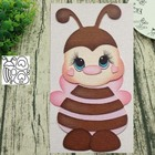 Animal bee 2 metal c...