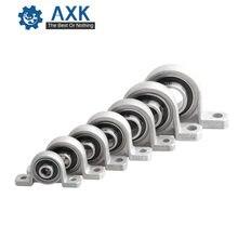 Bloc d'oreiller avec roulement à billes en alliage de Zinc, diamètre 8/10/12/17mm, Support monté sur axe, Kp08 Kp000 Kp001 Kp003, acier Ra 0.05