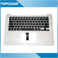 Original Small Enter Russia Russian Standard Top Case Palmrest + Keyboard + Backlight For Macbook Air 13 A1466 2013 2014 2015
