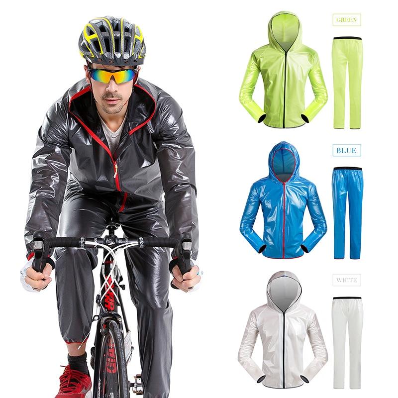 2018 Hot Sale Cycling Coat New Motorcycle Raincoat Bicycle Raincoat Outdoor Sport Camping Waterproof Cycling Coat