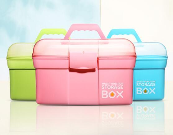 Scissors Pen-Container Jewelry Makeup-Organizer Manicure-Tool Desktop-Storage-Box Nail-Polish