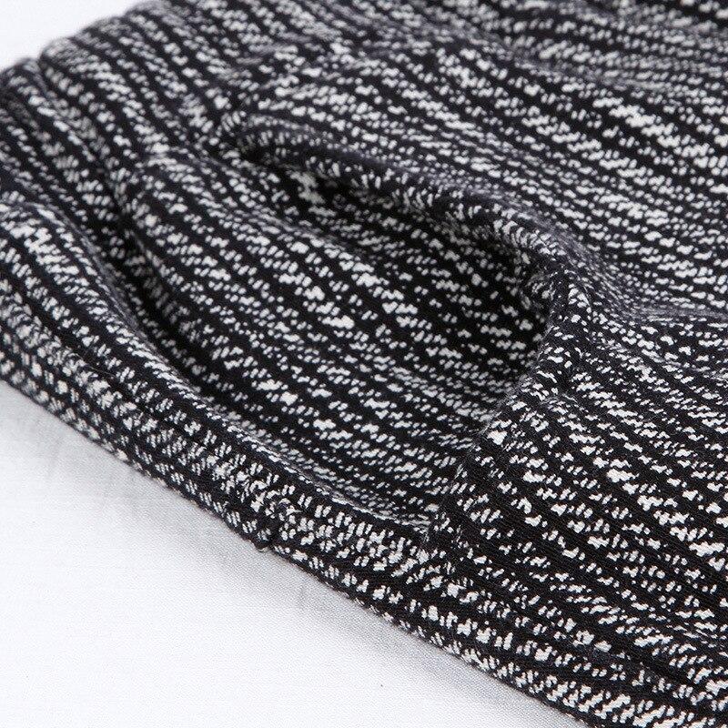 Cintura Casual Makuluya Cálido Mujeres Harén Negro Engrosamiento Invierno Otoño L6 Pantalones Elástica De Dama Hombre Las PnqwP8Ar