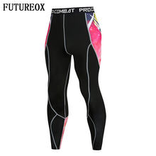 New Lightnin 3D Printed Leggings Men Pattern Compression Tights Pants 2018 New Skinny Sweatpants crossfit Fitness Trousers Male(China)