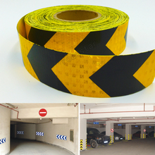 5cm X 5m Shining Reflective Warning Tape with Printing for fairways truck motorcycle bicycles