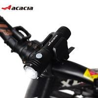 NEW Acacia Bicycle Lights Ciclismo Flashlight Cycling Bicycle Lighting Waterproof Front Light Frame USB Charger Bike