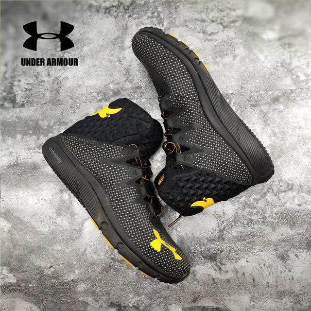 d90fb855 2018 Under Armour Basketball Shoes UA PROJECT ROCK DELTA DNA Men's Sport  Sneakers Men Outdoor Medium Top Johnson Cushioning Shoe