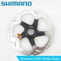 Shimano XT RT81 SMRT-81 гидравлические дисковые тормоза ротора Centerlock 160 мм Ice Технология горный велосипед Велосипеды