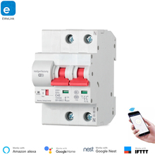 Get more info on the eWeLink 2P Remote control Wifi Circuit Breaker /Smart Switch/ Intelligent Automatic Recloser overload short circuit protection