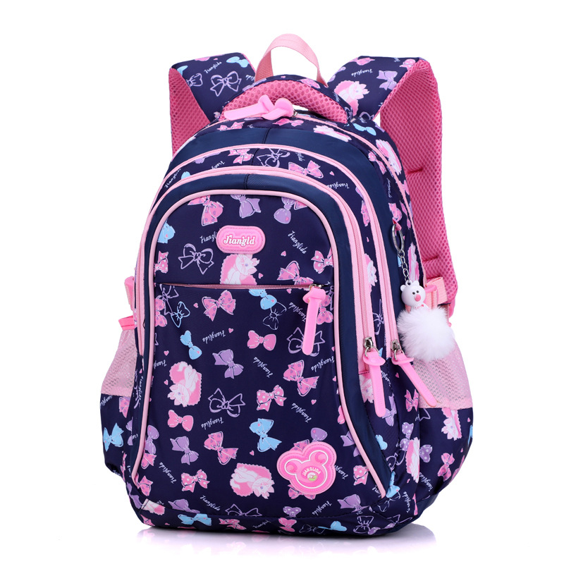 Big Capacity Children School Bags Kids Cute Fashion Printing Backpack Girls Orthopedic Schoolbag Oxford Waterproof Mochila Escol