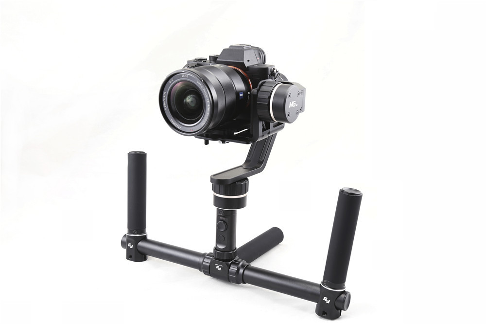 Feiyu FYMG MG V2 3 Axle Brushless Gimbal 360 Stabilizer for Mirrorless Cameras A7 A7R A7S A7 II A7S II A7R II GH4 / NEX-7 F17006 bestablecam h4 rtf brushless handheld encoder mirrorless digital camera gimbal gyro stabilizer for gh3 gh4 a7s nex5 bmpcc