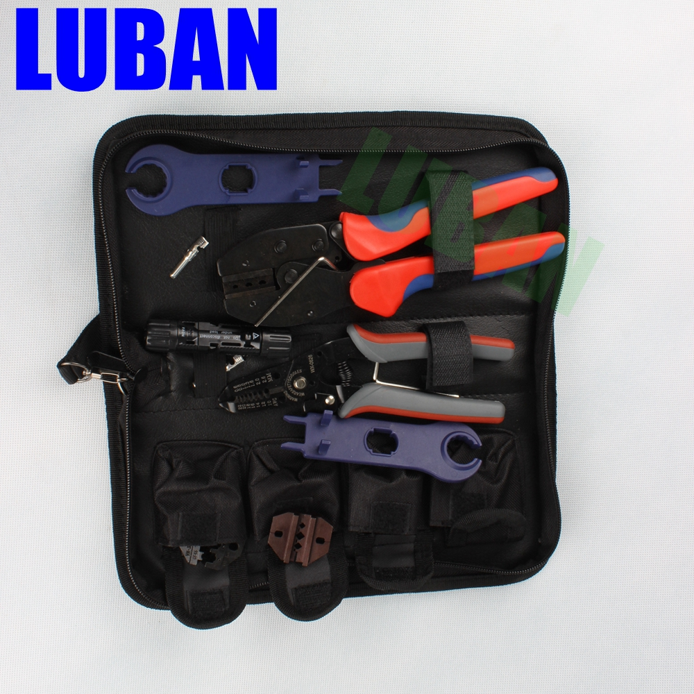 MC4-LY2546B Easy Type Solar Crimping Pliers Tools Pv Connector Wire Crimpers Solar terminal crimping tool 2.5-6mm2 for MC3 MC4 solar panel tool kit ly k2546b 1 pv tool set mc4 crimping tool set only including mc3 crimping die set mc4 mc3 crimping tool