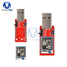 ESP-07 ESP07 CH340 G CH340G USB To TTL ESP8266 WiFi Wireless Development Board Module Antenna To TTL Driver Module 4.5V-5.5V(China)