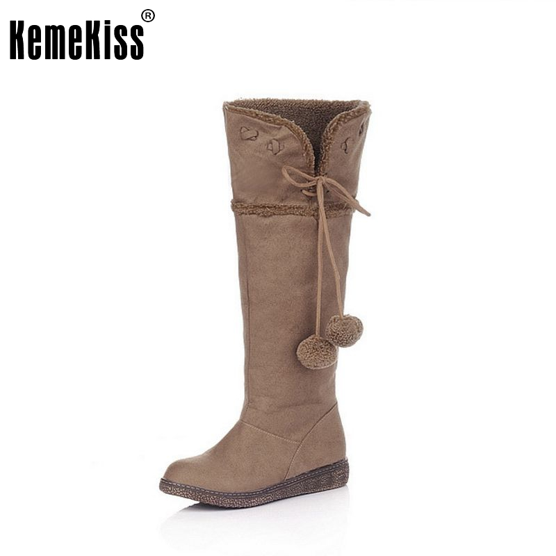 Free shipping knee boots women fashion snow winter footwear flat shoes sexy warm long boot P7262 EUR size 34-39 free shipping falt shoes women sexy footwear fashion casual shoes p11463 eur size 34 43