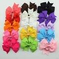 2017 New 15 Mix Colors Kids Girl Baby Children Toddler DIY Grosgrain Bow Bebe Headband Hair Accessories Bowknot Ribbon Headbands