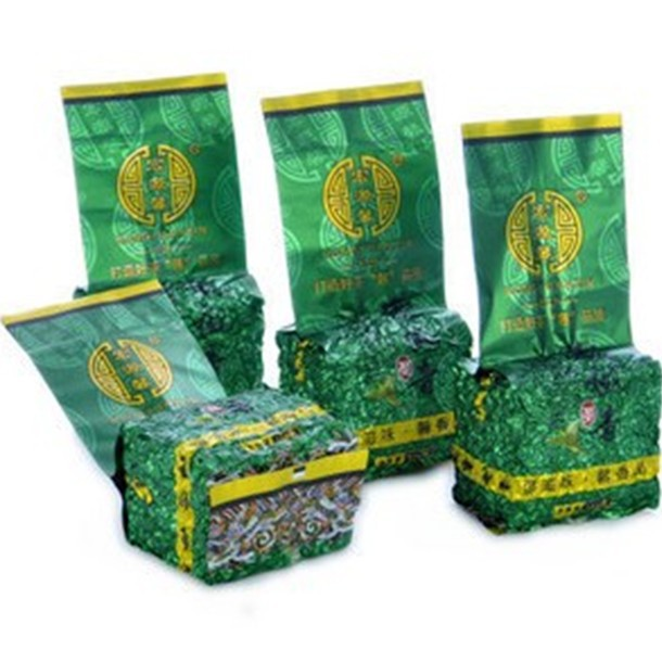 500g Chinese Anxi Tieguanyin tea the China green tie guan yin naturally organic health care food oolong 4 bags