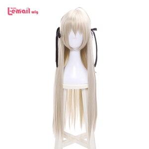 Image 1 - L email perruque pour Cosplay synthétique lisse, longue de 80cm, nouvelle perruque pour Cosplay Yosuga no Sora In solitude