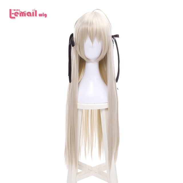 L email perruque pour Cosplay synthétique lisse, longue de 80cm, nouvelle perruque pour Cosplay Yosuga no Sora In solitude