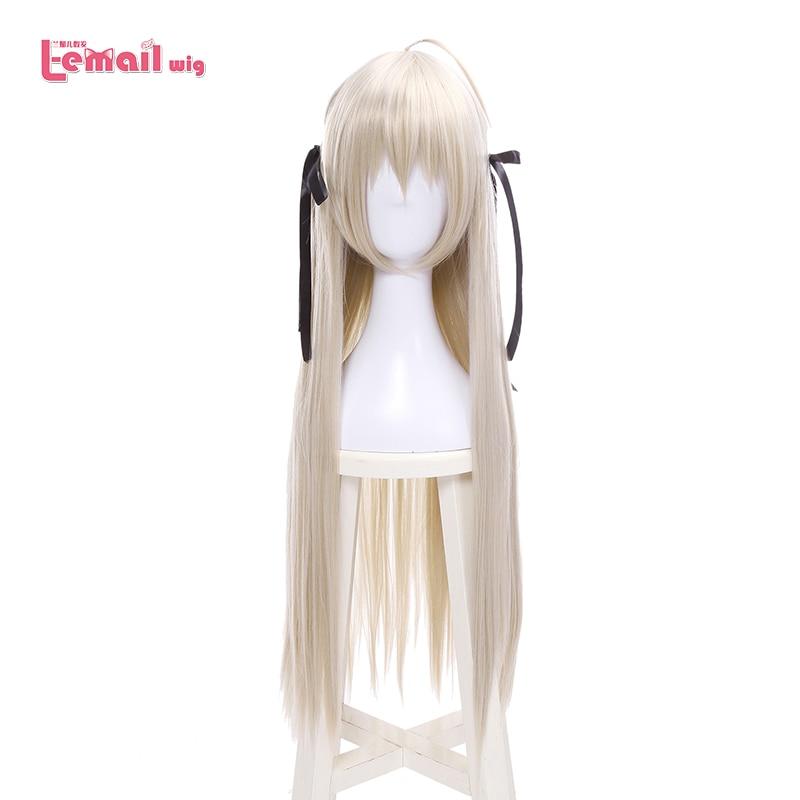 L-email Wig New Yosuga No Sora In Solitude Sora Kasugano Cosplay Wigs 80cm Long Straight Synthetic Hair Perucas Cosplay Wig