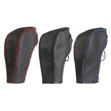 Кожаный чехол для рычага переключения передач для Chevrolet/Cruze Captiva 2013 2012 2011 автоматическая коробка передач ручной работы