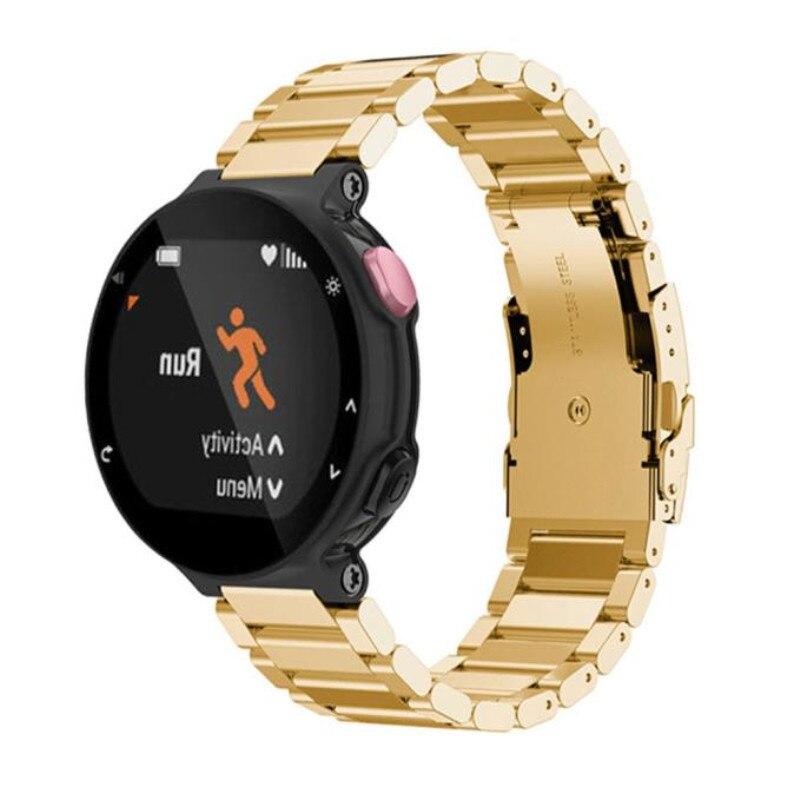Susenstone Brand Watchband Stainless Steel Bracelet Watch Luxury Strap Correa Reloj  For Garmin Forerunner 220 230 235 630 620 new 2016metal stainless steel watch band strap for garmin forerunner 220 230 235 630 620 735 high quality 0428