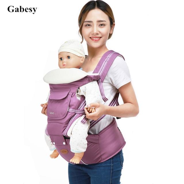 Luxury 9 In 1 Hipseat Ergonomic Baby Carrier 360 Mochila Portabebe