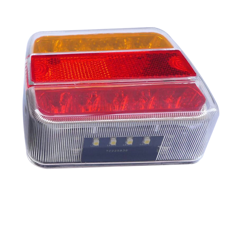1 Pair 10 LEDs Car Rear Taill Lights Waterproof Indicator Signal Lamp for 12V Truck Trailer HEHEMM in Car Light Assembly from Automobiles Motorcycles