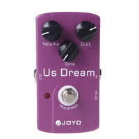 Joyo JF 34 Us Dream Electric Guitar Effect Pedal Distortion True Bypass Free Shipping