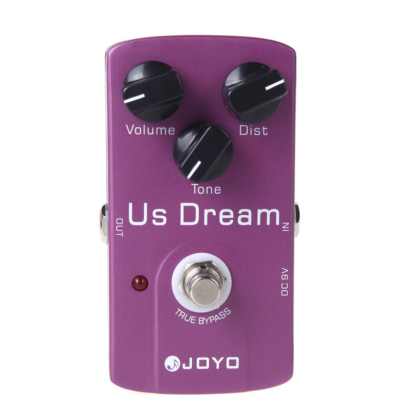 buy joyo jf 34 us dream electric guitar effect pedal distortion true bypass. Black Bedroom Furniture Sets. Home Design Ideas
