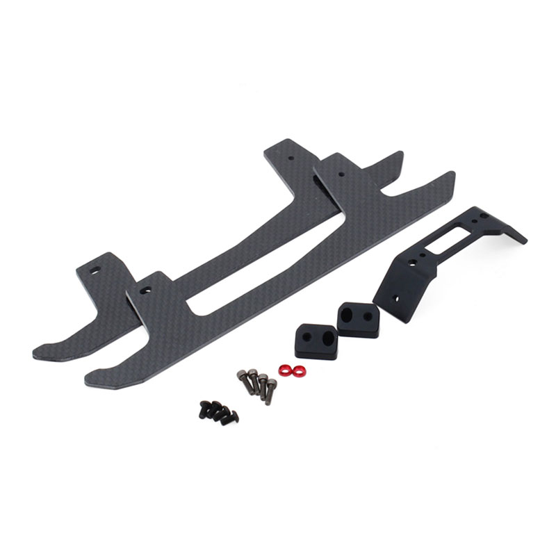 ALZRC - Devil 380 Helicopter Parts 380 FAST Carbon Fiber Landing Skid Set - Black natural enemy fauna in rice wheat system of india
