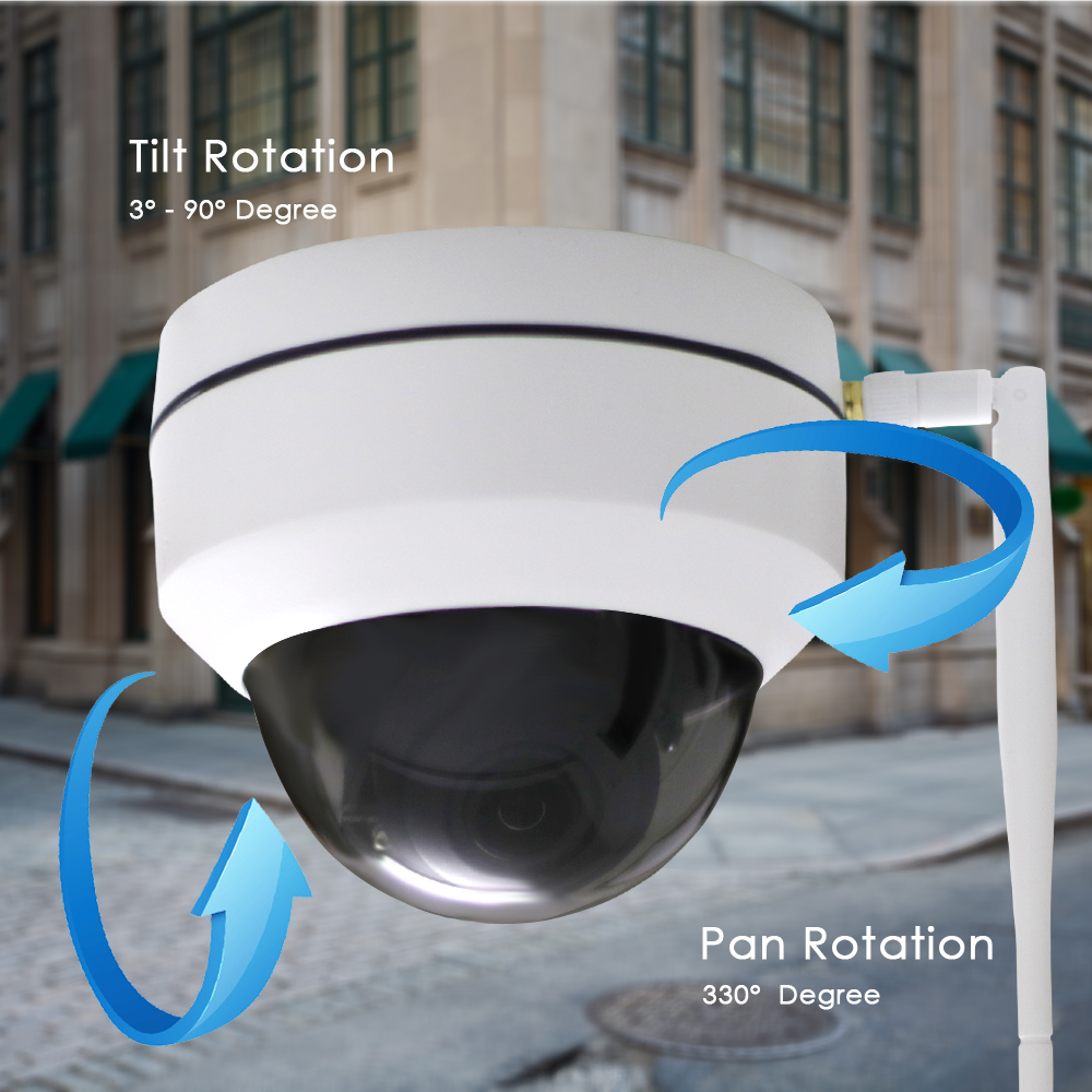 Image 5 - CTVMAN Security PTZ Cameras Dome Pan/Tilt/Zoom 3X Camera Wifi Outdoor Network Wireless PTZ IP Camera 1080P P2P Mini Wi fi Cam-in Surveillance Cameras from Security & Protection