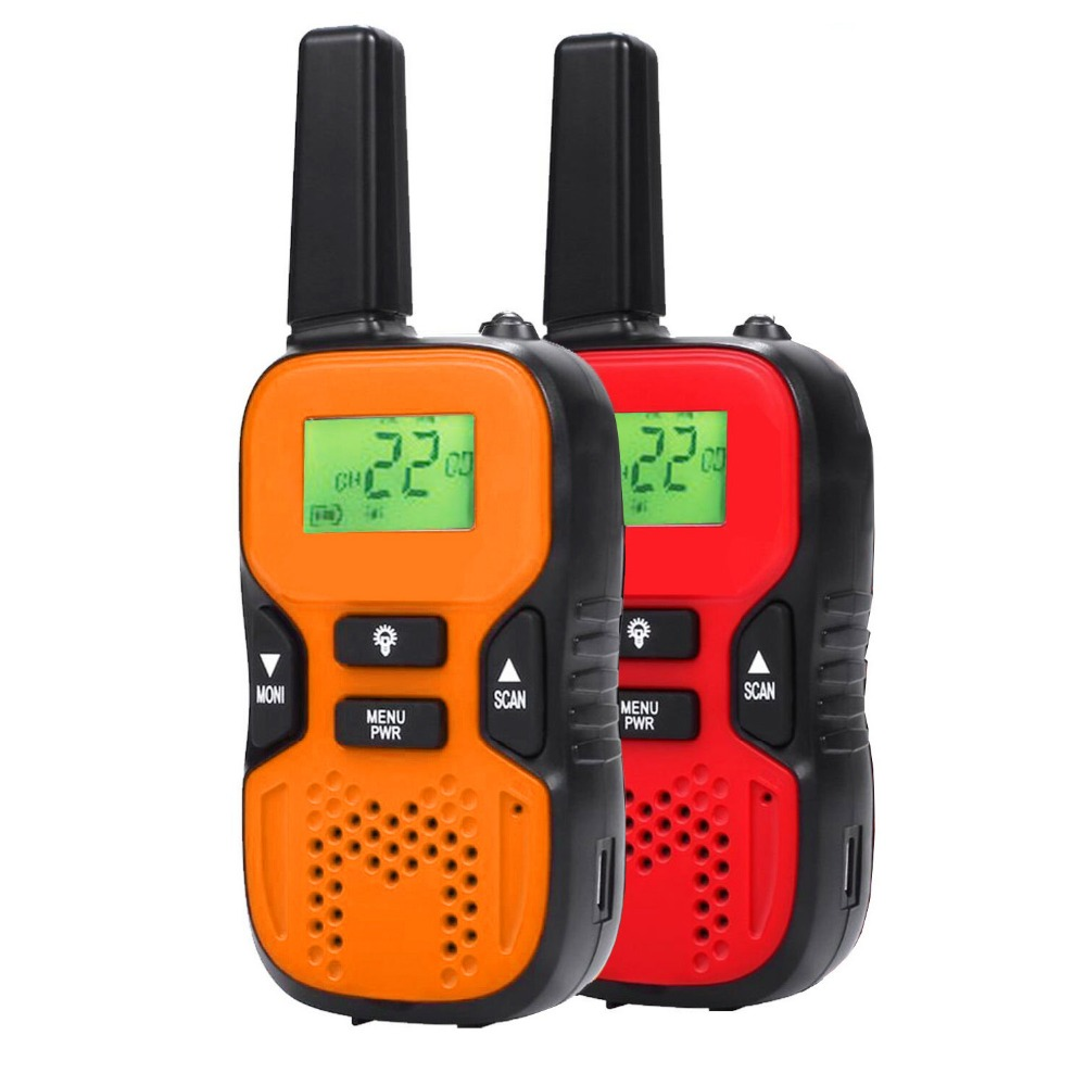 все цены на Children Walkie Talkies 446MHz 8 Channels Kids Two Way Radios Bulit-in Flashlight Toy Christmas Gifts Outdoor Camping Hiking!