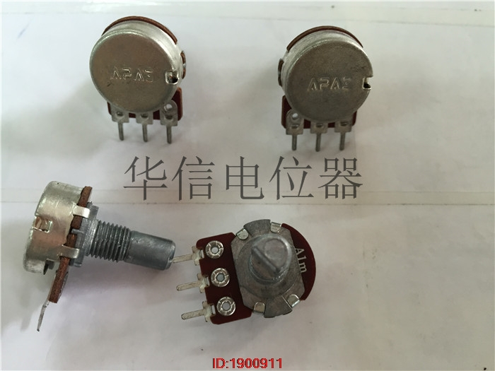 5pcs/lot APAI 148 Single-pole Potentiometer A1M Anti-handle Length 15MMF With 41 Steps In Stock