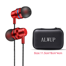 Headphone Noise Isolating in ear headphones earhook earphones with box earphone with mic earbud ear phone for samsung a5 2017 basn m1 3 5mm jack wired in ear earphones w headphone noise isolating earbud red black
