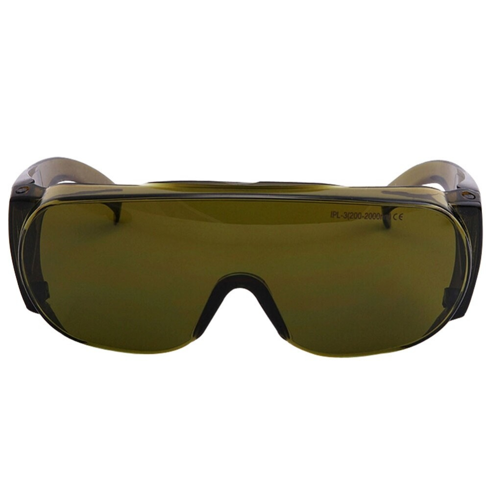 IPL-3 Laser Safety Goggles 200~2000nm Wavelength, Eye Protection Laser Glasses, 60% VLT