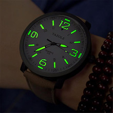 Luxury Fashion Brand Mens Watch Hours Digital Casual Leather Watches Military Sport Quartz Army Wrist Watches Relogio Masculino