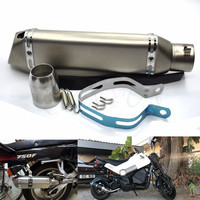for Motorcycle parts Exhaust Universal 51mm Stainless Steel Motorbike Exhaust Pipe For Triumph TIGER 800 XC XR XCX 15 16